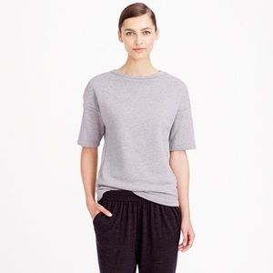 Demylee for J. Crew Brooke Short Sleeve Sweatshirt